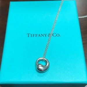 Tiffany & Co Eternal circle necklace